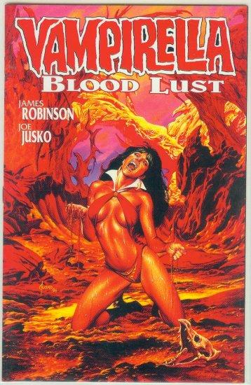 HARRIS COMICS VAMPIRELLA BLOOD LUST BOOK 1 (1997)