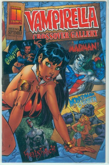 HARRIS COMICS VAMPIRELLA CROSSOVER GALLERY (1997)