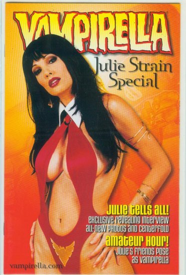 HARRIS COMICS VAMPIRELLA JULIE STRAIN SPECIAL (2000)