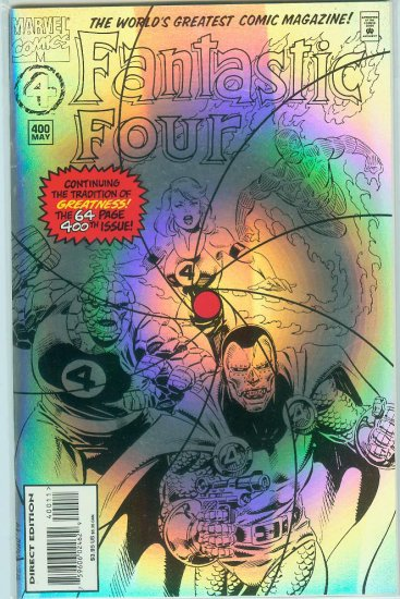 FANTASTIC FOUR #400 (1995)