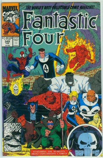 FANTASTIC FOUR #349 (1991)
