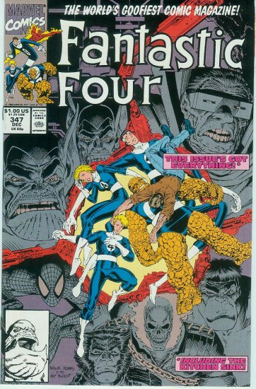 FANTASTIC FOUR #347 (1990)