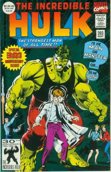 INCREDIBLE HULK #393 (1992)