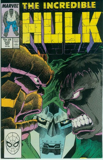 MARVEL COMICS INCREDIBLE HULK #350 (1988)