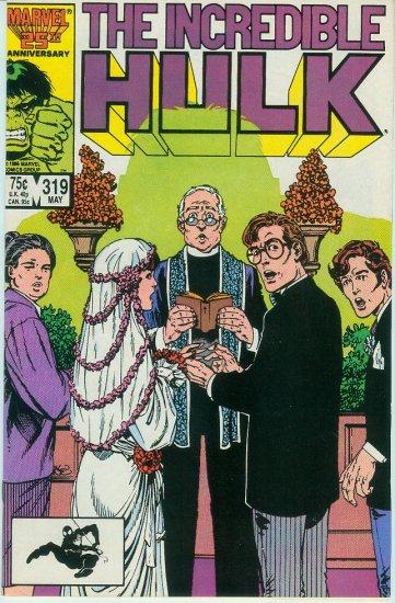 MARVEL COMICS INCREDIBLE HULK #319 (1986)