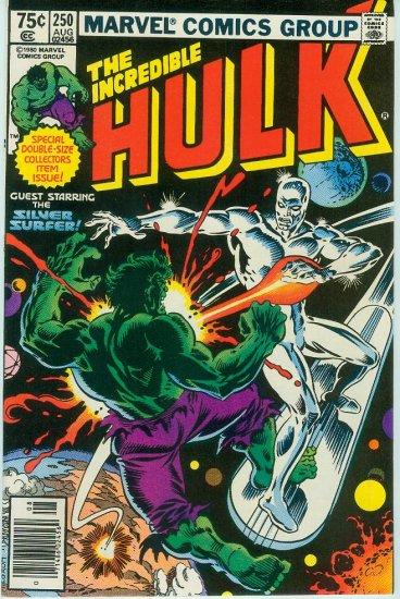 MARVEL COMICS INCREDIBLE HULK #250 (1980)