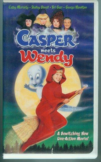 Casper Meets Wendy (VHS, Sept 1998)
