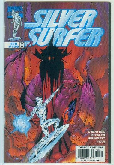 MARVEL COMICS SILVER SURFER #136 (1998)