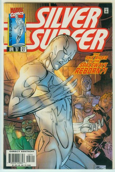 MARVEL COMICS SILVER SURFER #127 (1997)