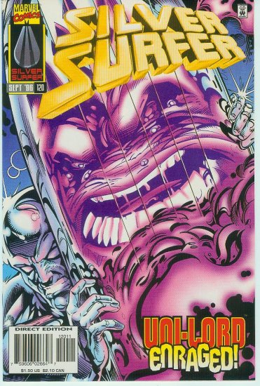 MARVEL COMICS SILVER SURFER #120 (1996)