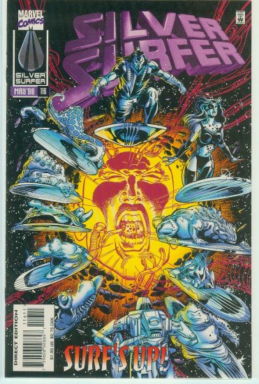MARVEL COMICS SILVER SURFER #116 (1996)