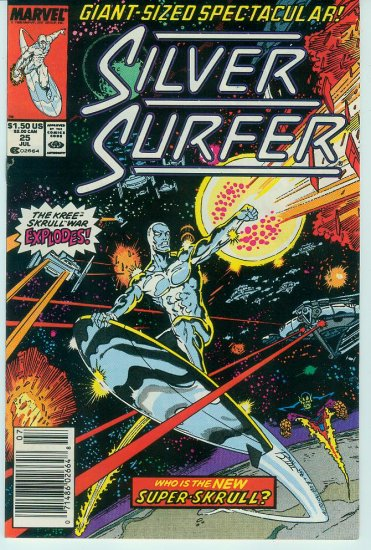 MARVEL COMICS SILVER SURFER #25 (1989)