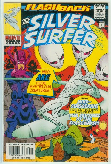 MARVEL COMICS SILVER SURFER MINUS 1 SPECIAL (1997)