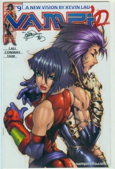 HARRIS COMICS VAMPI #9 (2001)