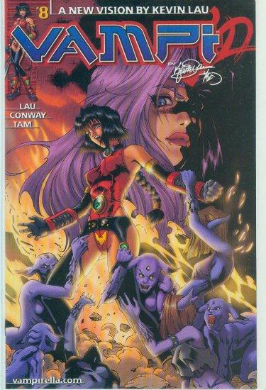 HARRIS COMICS VAMPI #8 (2001)