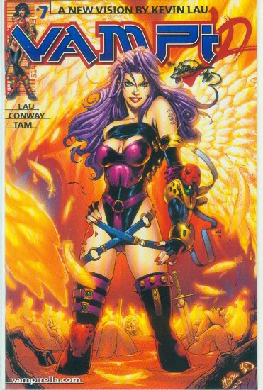 HARRIS COMICS VAMPI #7 (2001)