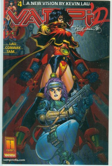 HARRIS COMICS VAMPI #4 (2000)