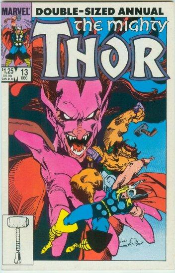 MARVEL COMICS THOR ANNUAL #13 (1985)