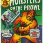 MONSTERS ON THE PROWL #22 (1973) BRONZE AGE