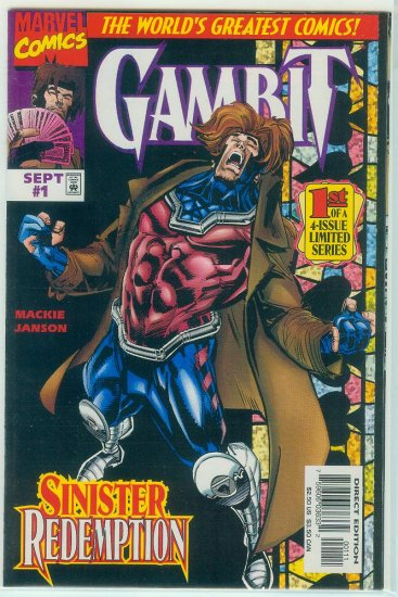 GAMBIT #1-4 (1997) SECOND LIMITED SERIES