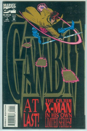 GAMBIT #1-4 (1993) FIRST LIMITED SERIES