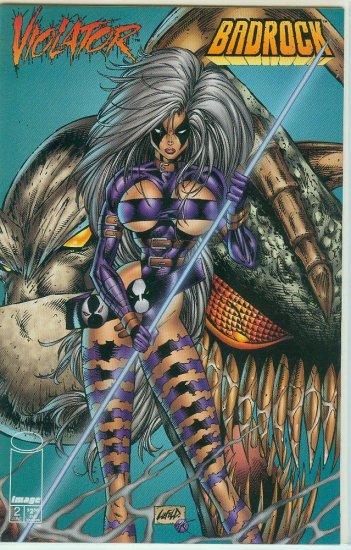 VIOLATOR VS. BADROCK #2 OF 4 (1995)