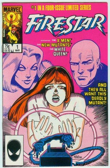 MARVEL COMICS FIRESTAR #1 OF 4 (1986)