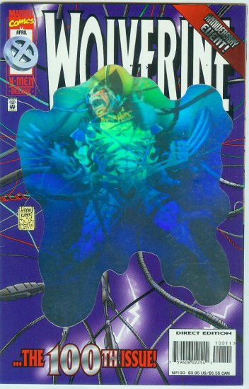 MARVEL COMICS WOLVERINE #100 (1996)