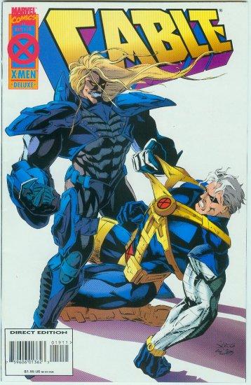 MARVEL COMICS CABLE #19 (1995)