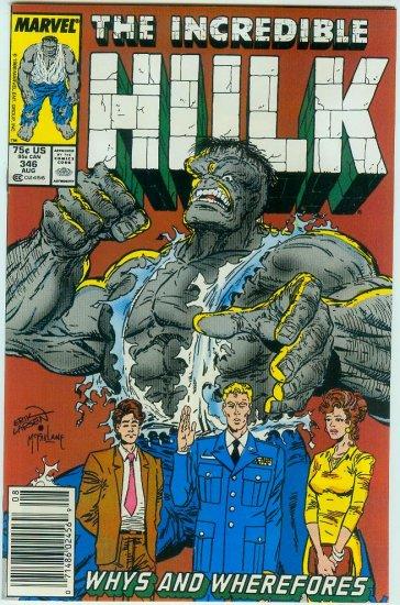 INCREDIBLE HULK #346 (1988)