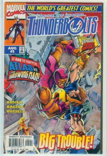 THUNDERBOLTS #5  (1997)