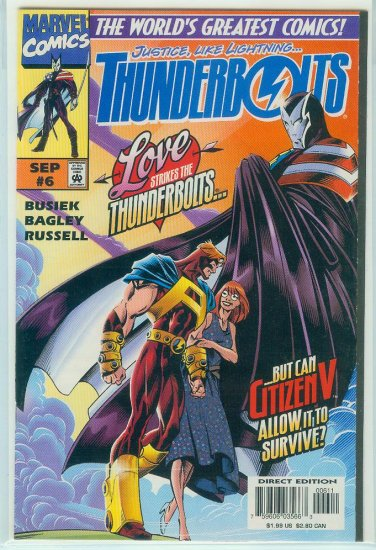 THUNDERBOLTS #6 (1997)