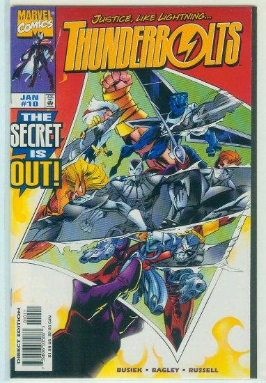 THUNDERBOLTS #10 (1998)
