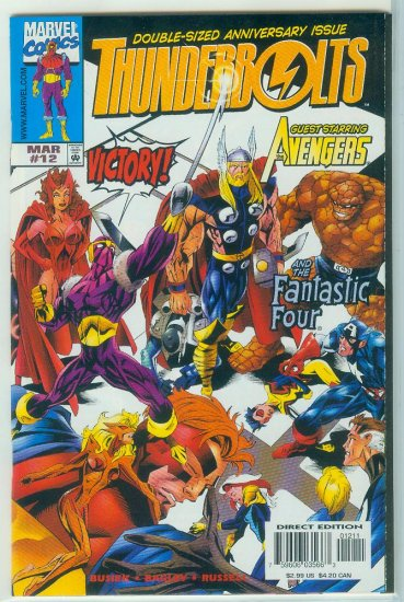 THUNDERBOLTS #12 DOUBLE SIZE (1998)