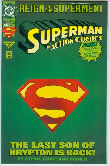 Action Comics #687 (1993)