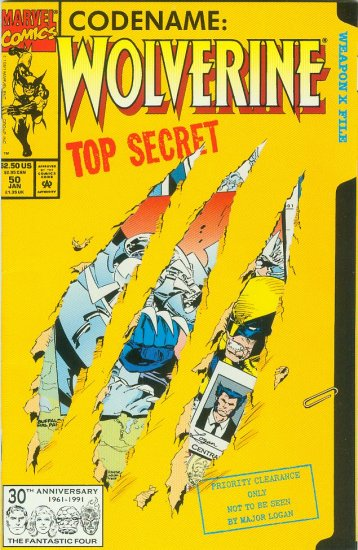 MARVEL COMICS WOLVERINE #50 (1992)