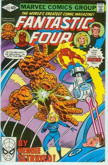 FANTASTIC FOUR #217 (1980)