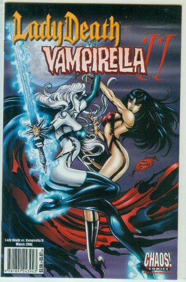 CHAOS COMICS LADY DEATH VS VAMPIRELLA 2 (2000)
