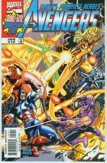 AVENGERS #12 VOL. 3 1999.  AVENGERS VERSUS THE THUNDERBOLTS !!!!!!! (FREE SHIPPING)