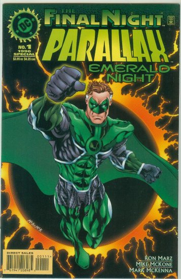 PARALLAX EMERALD NIGHT #1 (1996) FINAL NIGHT TIE IN