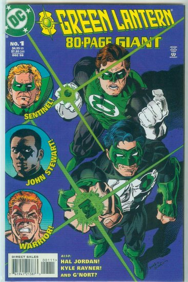 GREEN LANTERN 80-Page Giant #1 (1998)