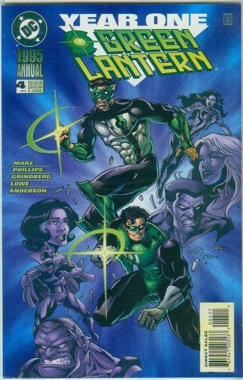 GREEN LANTERN YEAR ONE ANNUAL #4 (1995)