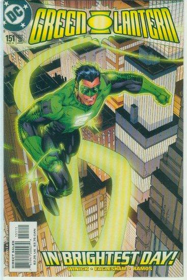 GREEN LANTERN #151 (2002)