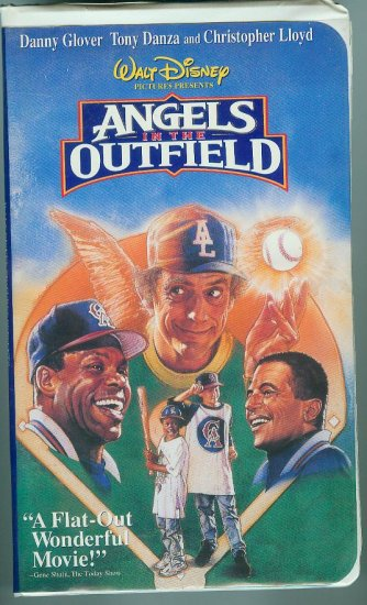 DISNEYS Angels In the Outfield (VHS, 1995)