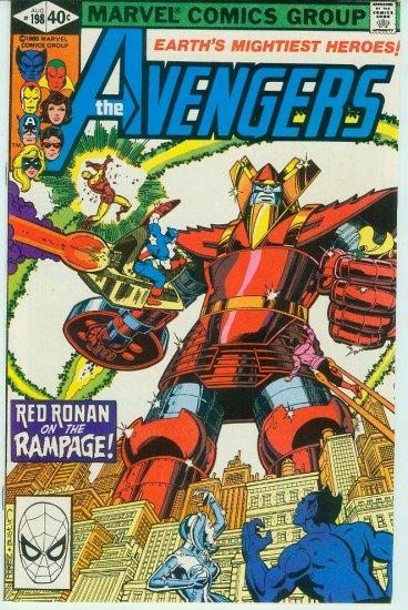 AVENGERS #198 (1980)