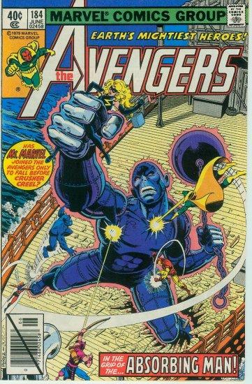 AVENGERS #184 (1979) Bronze Age