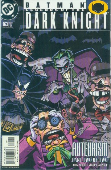 Legends Of The Dark Knight #163 (2003)