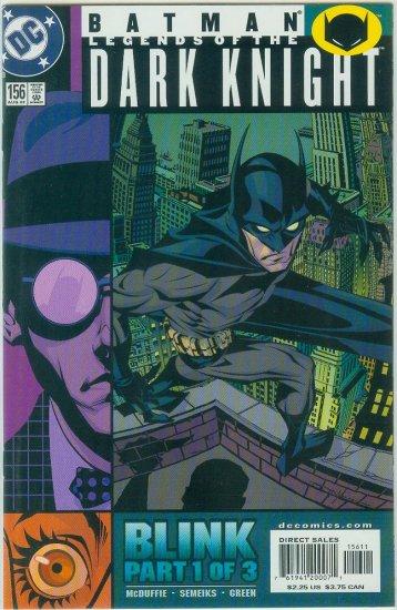 Legends Of The Dark Knight #156 (2002)
