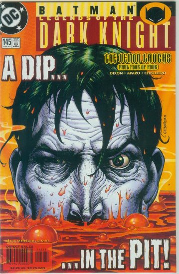 Legends Of The Dark Knight #145 (2001)