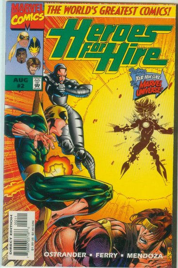 Heroes For Hire #2 (1997)